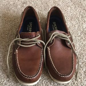 Brand new Sperry Top Sided leather shoes